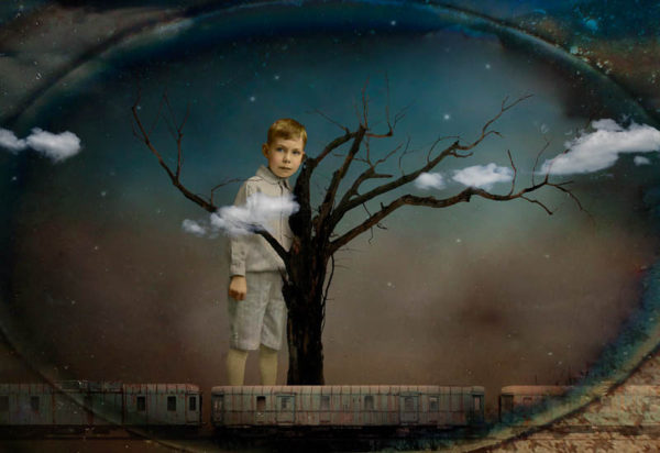 Lilliput by Corinne Geertsen, Digital Art, Digital Collage